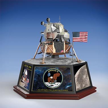 The Apollo 11 50th Anniversary Lunar Lander Sculpture
