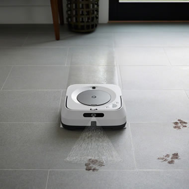 The Braava jet m6 App And Voice Controlled Robotic Wet/Dry Mop