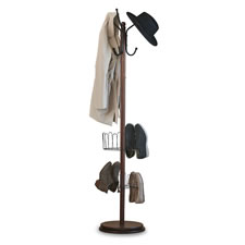 The Tight Space Rotating Shoe And Coat Rack
