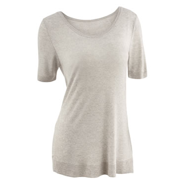 The Cashmere Bamboo Pajamas (Short Sleeve Shirt)