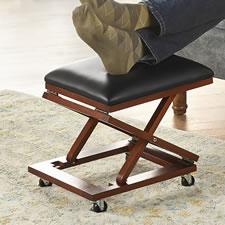 The Adjustable Height Foldaway Ottoman