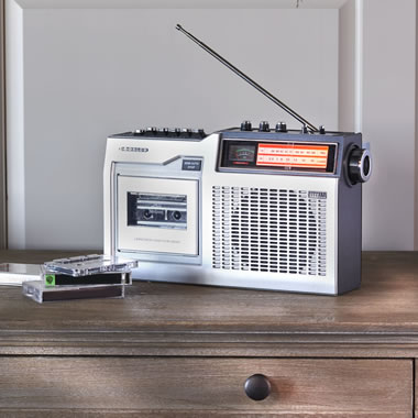The Classic Cassette Player/Radio
