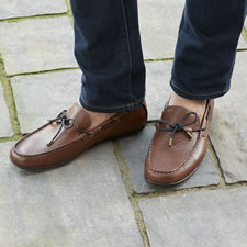 The All Day Arch Supporting Leather Loafers (Men's)