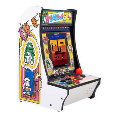 The Dig Dug Countertop Arcade Game
