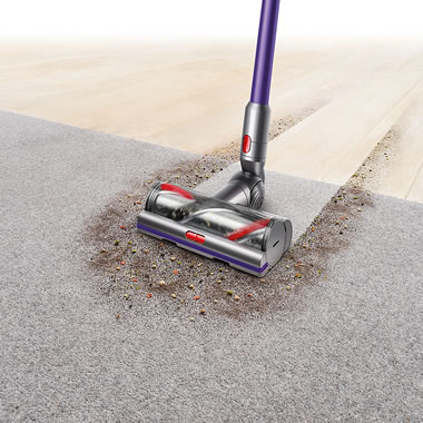 The Advanced Suction Stick or Hand Cordless Vacuum surfaces