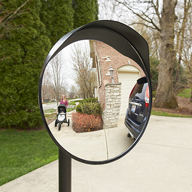 The Driveway Blindspot Safety Mirror