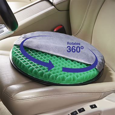 The Swiveling Gel Auto/Chair Cushion
