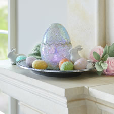 The Mosaic Color Changing Easter Egg