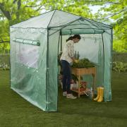 http://www.hammacher.com - The Only Instant Pop Up Greenhouse 179.95 USD