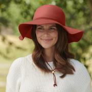 http://www.hammacher.com - The Lady's All Season Packable Wool Hat 69.95 USD