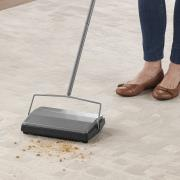 http://www.hammacher.com - The Classic Any Surface Sweeper 39.95 USD
