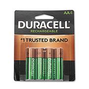 http://www.hammacher.com - 4 Pack of Rechargeable AA Batteries 19.95 USD