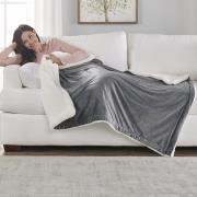 http://www.hammacher.com - The Heated Weighted Blanket 99.95 USD