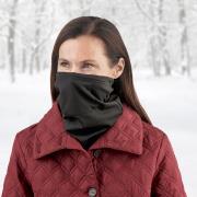 http://www.hammacher.com - The Filtered Antibacterial Fleece Gaiter Scarf 19.95 USD