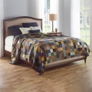 http://www.hammacher.com - The Genuine Irish Tweed Patchwork Quilt 999.95 USD