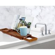 http://www.hammacher.com - The Genuine Teak Bath Tray 39.95 USD