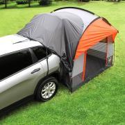 http://www.hammacher.com - The Hatchback Annex Tent 299.95 USD