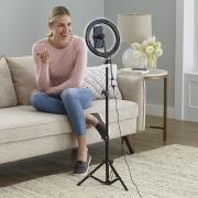 http://www.hammacher.com - The Video Call Enhancing Lamp 99.95 USD