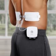 http://www.hammacher.com - The All Day Heated Pain Relief Patches 99.95 USD