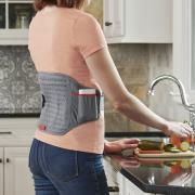 http://www.hammacher.com - The Cordless Wearable Heating Pad 99.95 USD