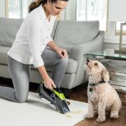 http://www.hammacher.com - The Cordless Carpet Stain Remover 119.95 USD