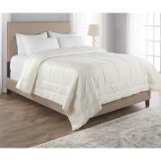http://www.hammacher.com - The All Season Down Alternative Washable Wool Comforter (Full/Queen) 239.95 USD