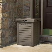 http://www.hammacher.com - The Package Concealing Delivery Drop Box 249.95 USD
