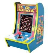http://www.hammacher.com - The Ms. Pac-Man Countertop Arcade Game 299.95 USD