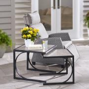 http://www.hammacher.com - The Weatherproof Nesting End Tables 239.95 USD