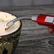 http://www.hammacher.com - The Flameless Candle Lighter 29.95 USD