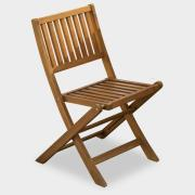 http://www.hammacher.com - Extra Stowable Chair For The Gateleg Patio Table And Six Stowable Chairs 89.95 USD