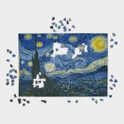http://www.hammacher.com - The Glare Free 1,000 Piece Starry Night Puzzle 19.95 USD