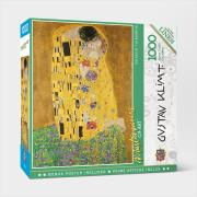 http://www.hammacher.com - The Glare Free 1,000 Piece The Kiss Puzzle 19.95 USD