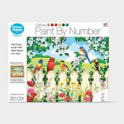 http://www.hammacher.com - The Songbird Sanctuary Paint By Number Kit 29.95 USD