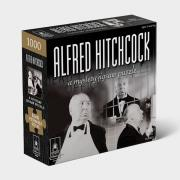 http://www.hammacher.com - The Mystery Sleuth's Alfred Hitchcock Jigsaw Puzzle 19.95 USD