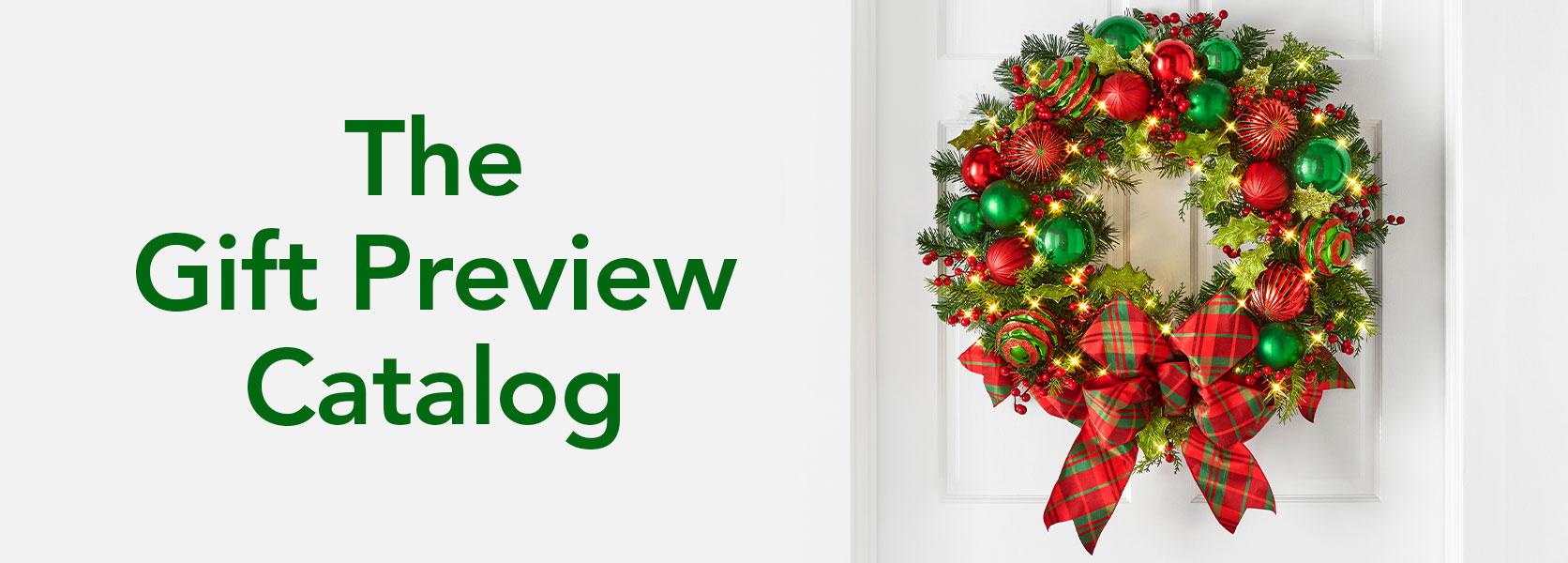 The Christmas Plaid Holiday Wreath