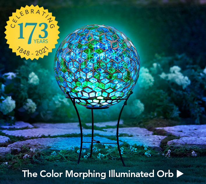The Color Morphing Illuminated Orb