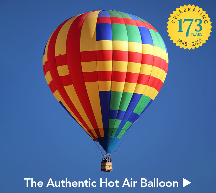 The Authentic Hot Air Balloon