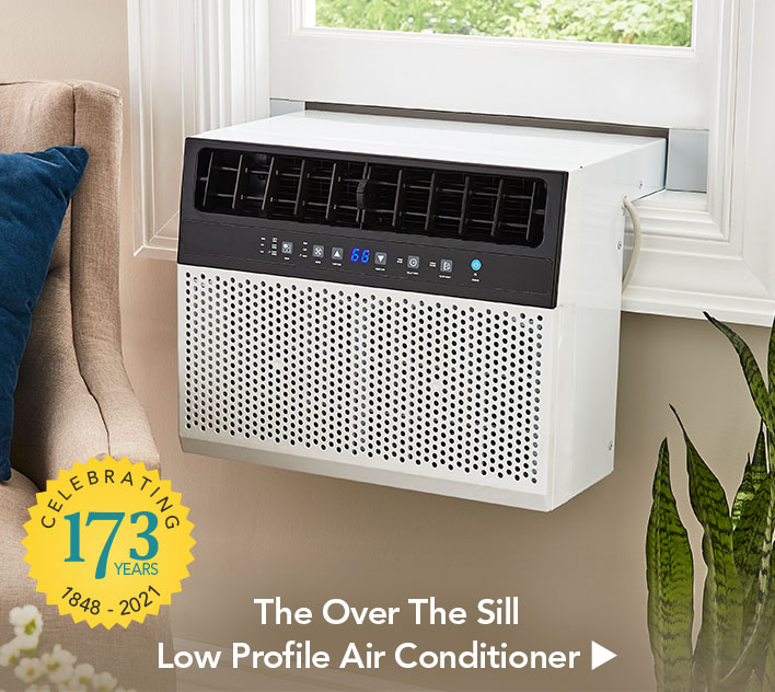The Over The Sill Low Profile Air Conditioner