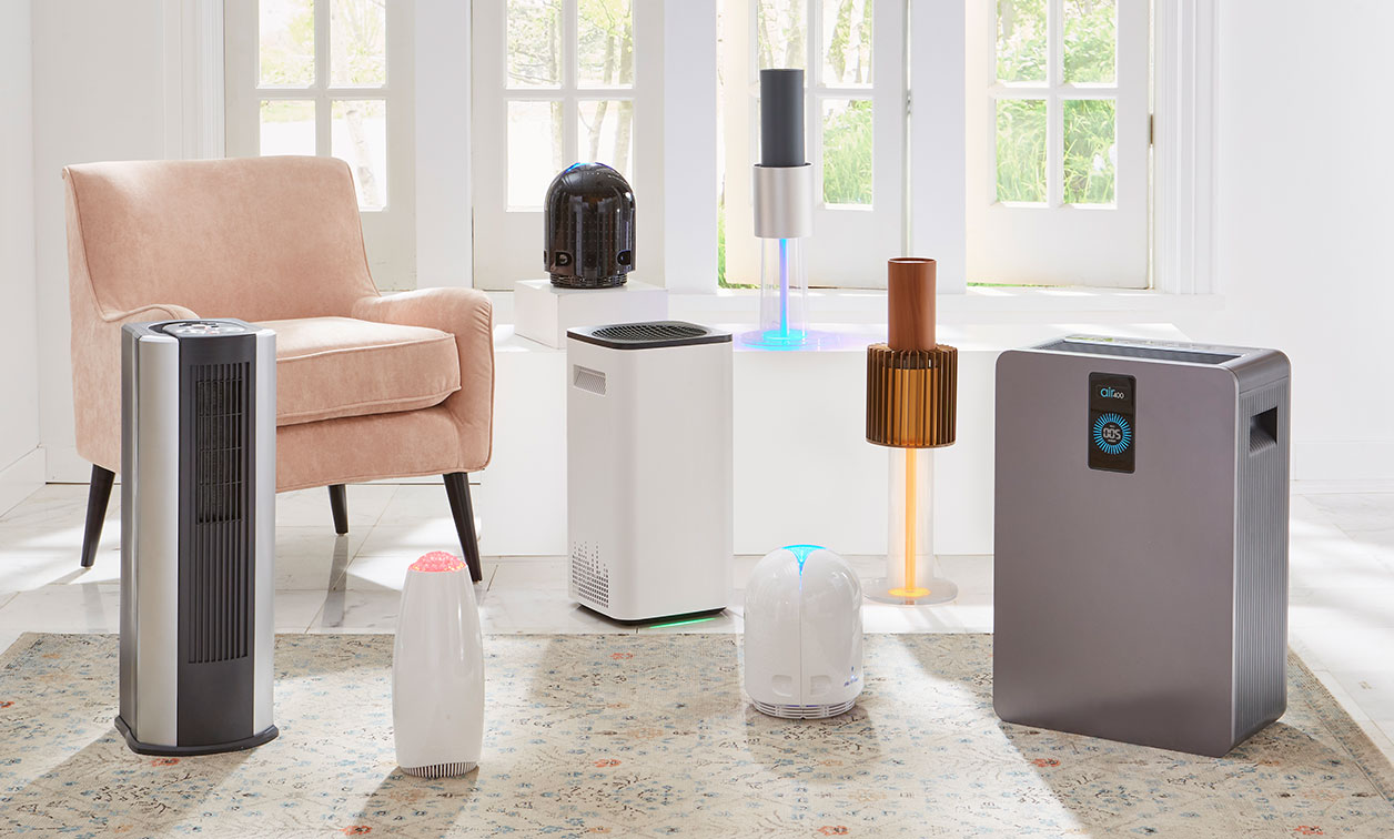 Shop Our Sanitizers and Purifiers